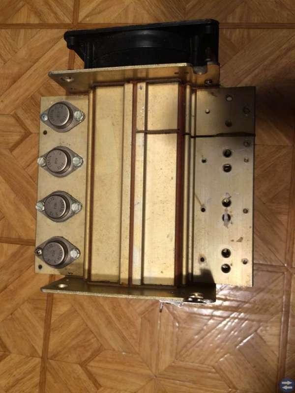 Kylsystem med fläkt för transistorer