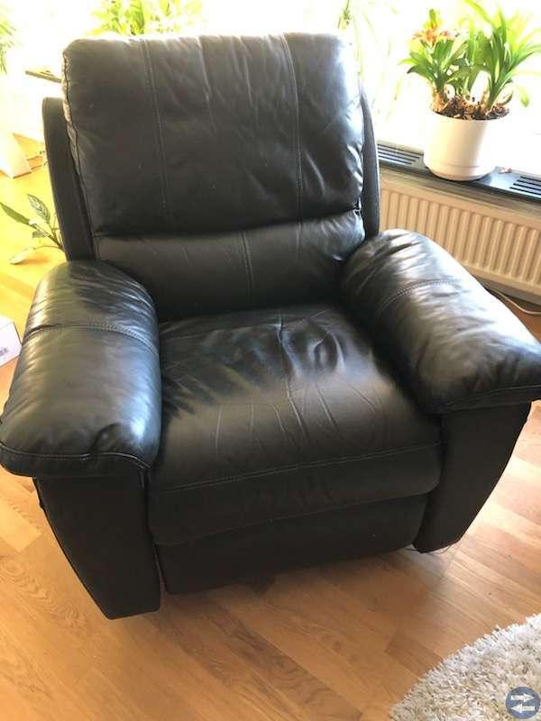 2 sitta soffa och enkel fåtölj