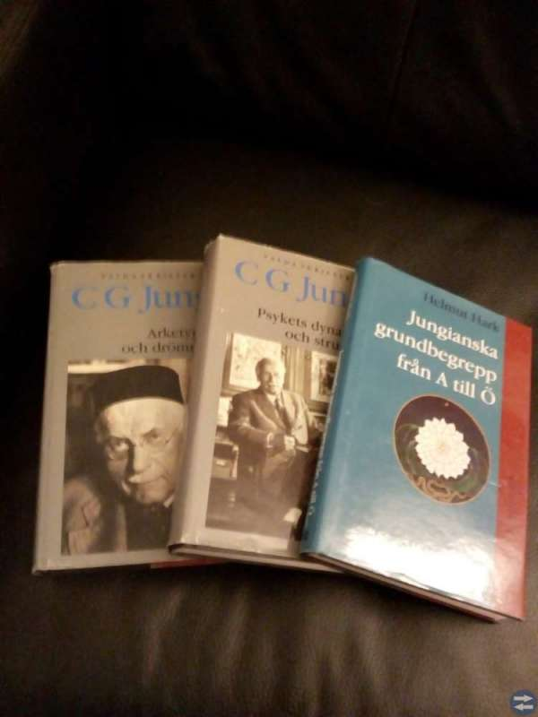 Jungiansk litteratur säljes billigt!