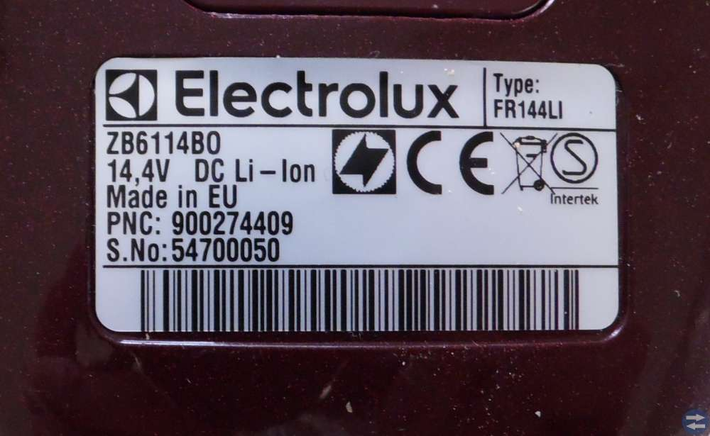 ELECTROLUX  HANDDAMMSUGARE