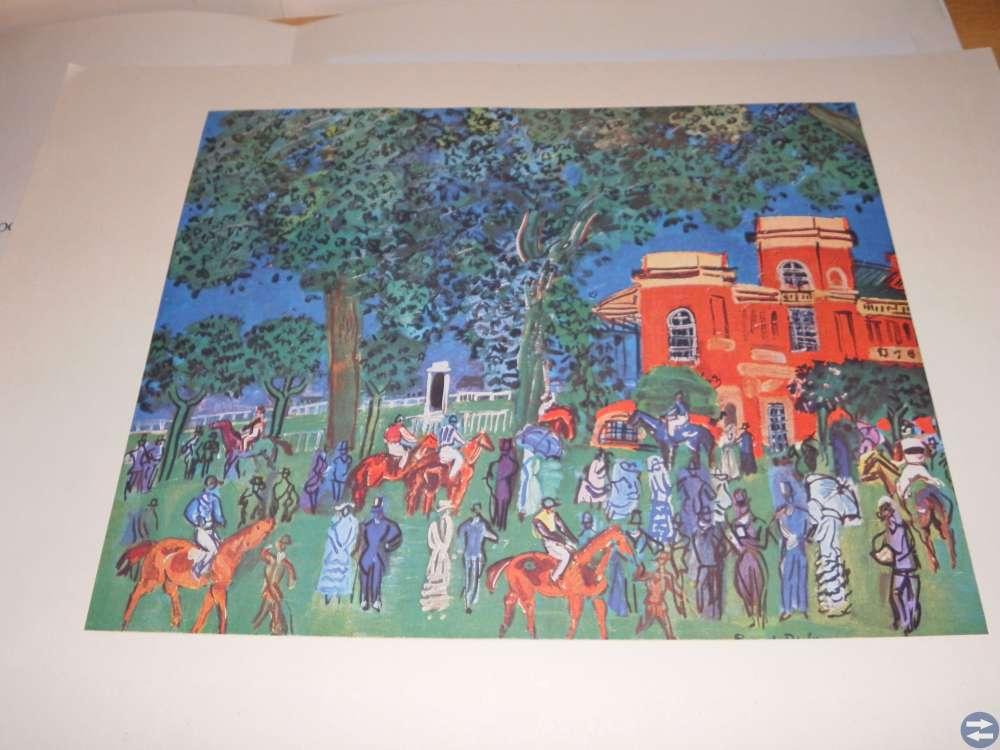 Teckningar litografier Raoul Dufy