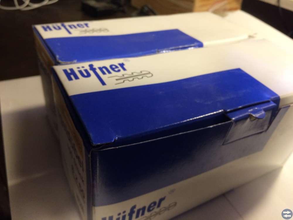 Spikplugg med spik Hufner 8x60 2 paket