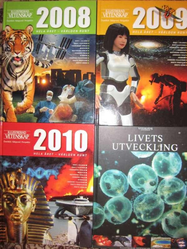 Årsböcker illustrerad vetenskap