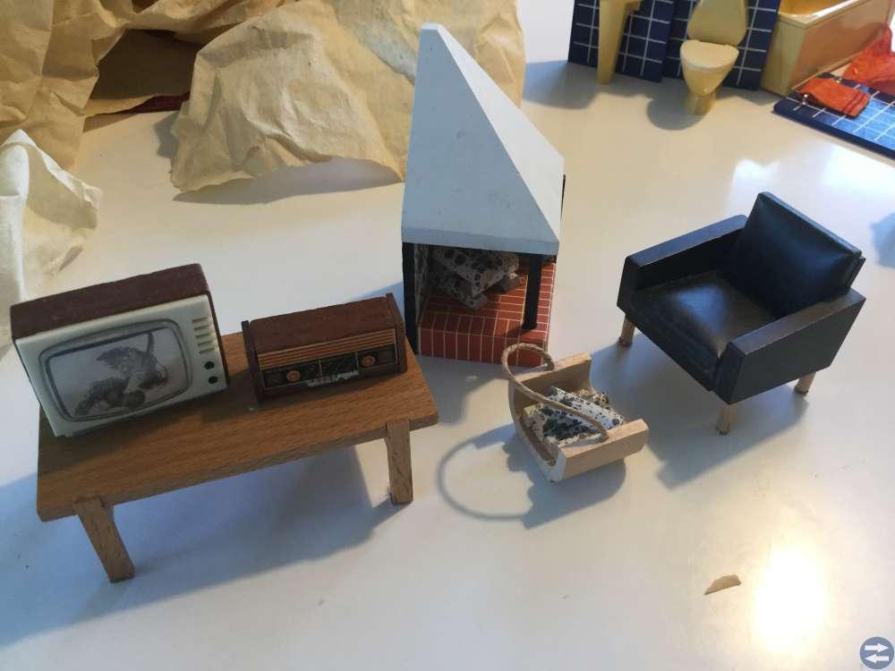 Lundby inventarier till dockskåp