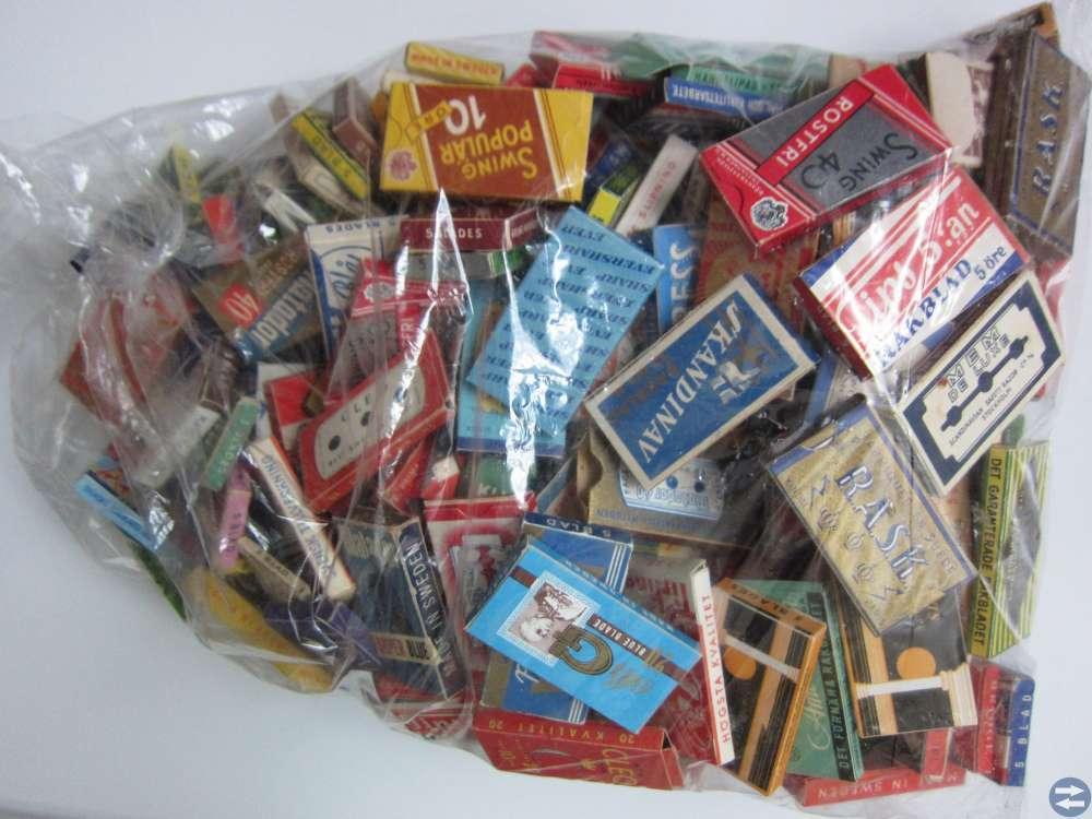 Rakblad förpackningar vintage