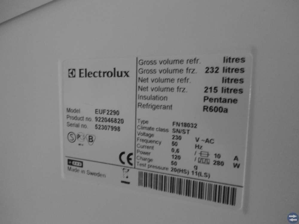 Frysskåp Electrolux