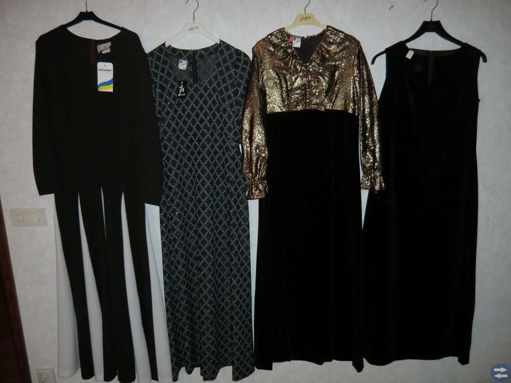 Långklänningar Nya från 80-90 talet