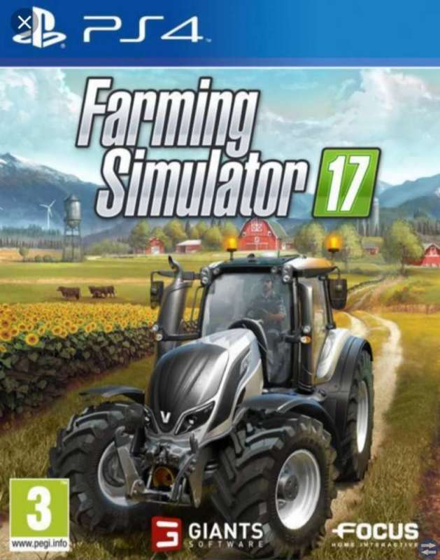 Mincraft ps4 och farming simulator 17