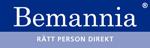 Bemannia Kontor logotype