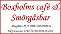 Boxholms Café & smörgåsbar