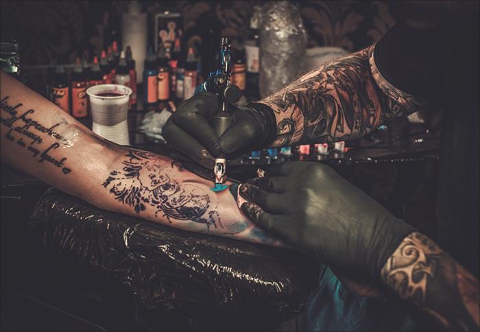 tatuerare i sandviken