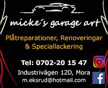 Micke's Garage Art