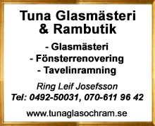 Tuna Glasmästeri & Rambutik