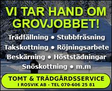 Tomt och trädgårdsservice i Rosvik AB