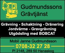 j - Gudmunssons Grävtjänst
