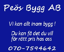 B-Peös Bygg AB
